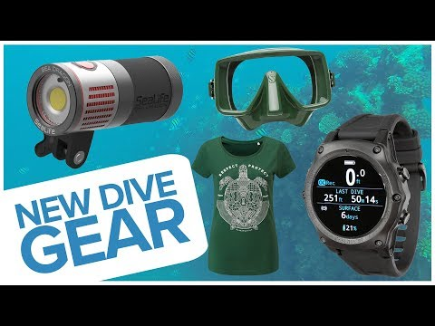 New Dive Gear – July 2018