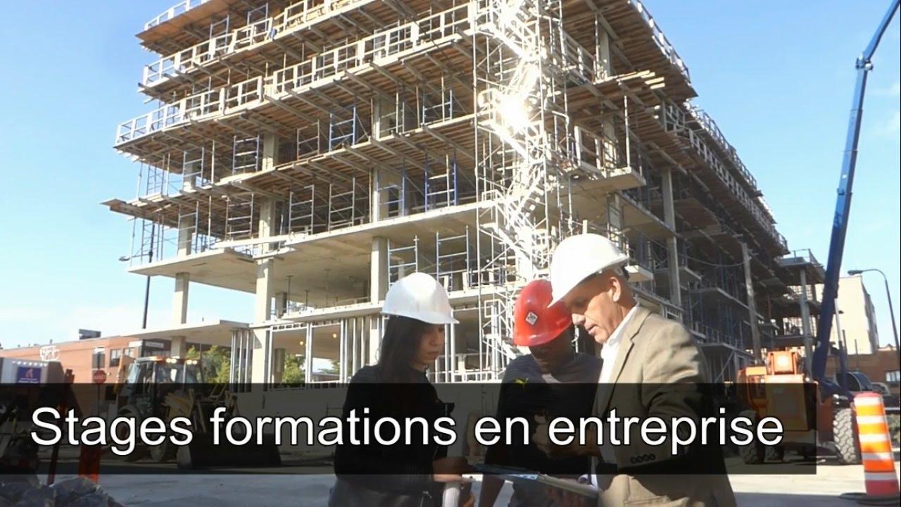 Stage en entreprise construction Quebec Canada generique fr