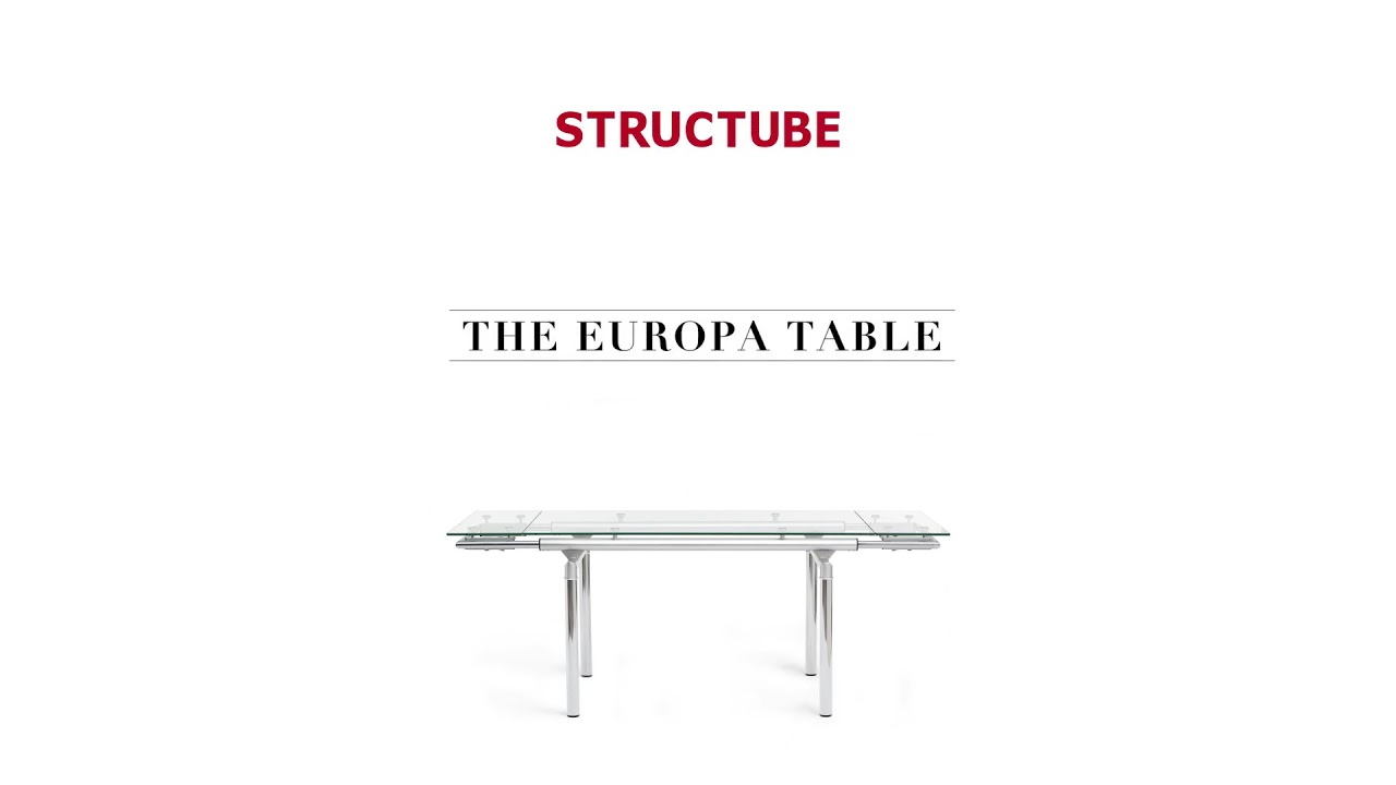 EUROPA Extendable dining table