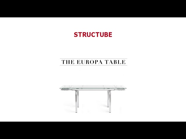 Video: EUROPA Extendable dining table