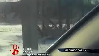 Последствия падения товарного поезда с рельсов очевидцы сняли на видео