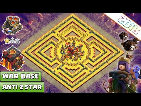 Clash Of Clans New Town Hall 10 Th10 Anti 3 Star War Base
