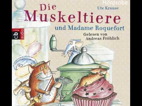 """Ute Krause """" Die Muskeltiere und Madame Roquefort"""", gelesen von Andreas Fröhlich - Hörbuch-Hörprobe"""