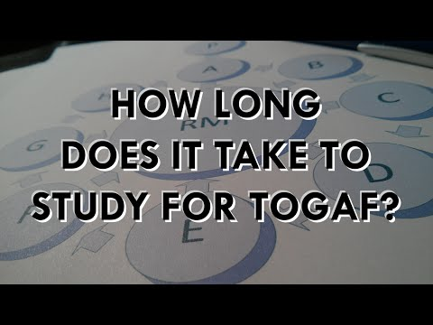 How Much Time Does It Take To Get TOGAF Certified?   Scott Duffy ...