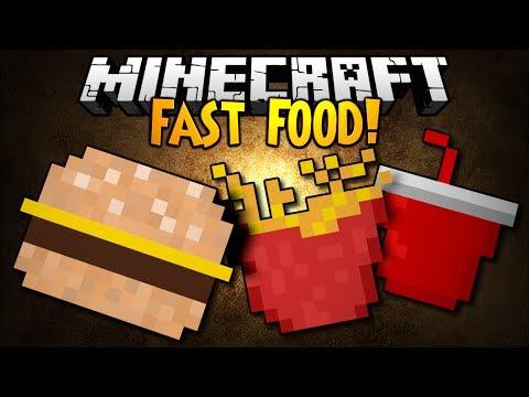 Minecraft Mod Showcase: FAST FOOD!