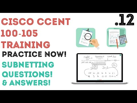 Cisco - CCENT/CCNA R&S (100-105) - Subnetting Questions and ...