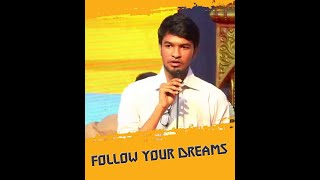 Follow your dreams whatsapp status | Motivation | Art Karthik Creation |
