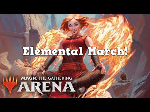 March of the elemental (draw your deck!)