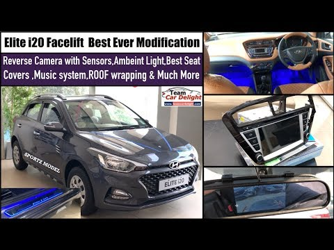 Hyundai Elite i20 Best Accessories Fully Modified | i20 Best Ever Modification