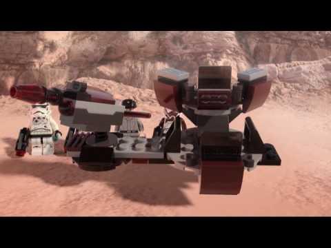 Конструктор Боевой набор Галактической Империи - LEGO STAR WARS - фото № 7