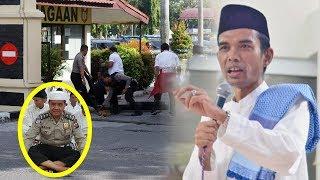 Ternyata Ustaz Somad Tausiah Dekat Mapolda Riau saat Teror, Bahkan Kenal dengan Polisi yang Tewas