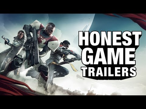 Honest Game Trailers' Take On Destiny 2 Is Its Most Honest Trailer Yet