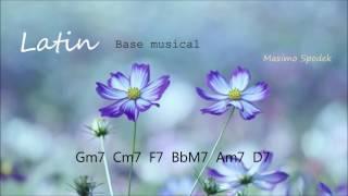 BASE MUSICAL DE RITMO LATINO EN G PARA GUITARRA, SAXO, PIANO, PERCUSION , ETC