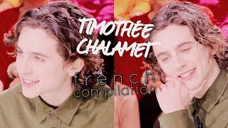 13 Minutes of Timothée Chalamet Speaking French