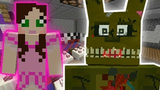 Minecraft: FIVE NIGHTS AT FREDDY'S ESCAPE CHALLENGE - Modded Mini-Game