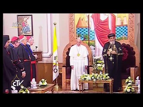 Le Pape François rencontre S.S. le patriarche copte orthodoxe Tawadros II