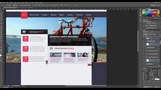 Web Design (Full View) #Flat Design