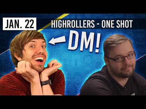 DM Trott Special! - HighRollers D&D ONE SHOT (22nd January