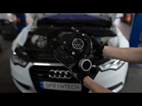 Фото к видео: Строим дизельную ракету, Audi A6 3.0tdi stage3!