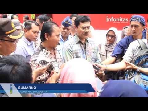 Kunjungan Ketua KPU ke TPS kelapa Gading