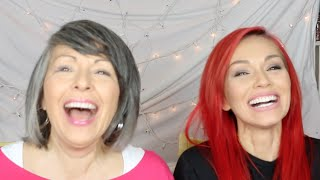 Mascara Challenge & Tips With My Mom by Kandee Johnson
