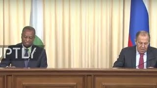 LIVE: Joint press conference by Russian FM Lavrov and Nigerian FM Onyeama