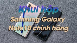 Khui Hộp Samsung Galaxy Note10 Chính Hãng Sắp Bán Tại Việt Nam
