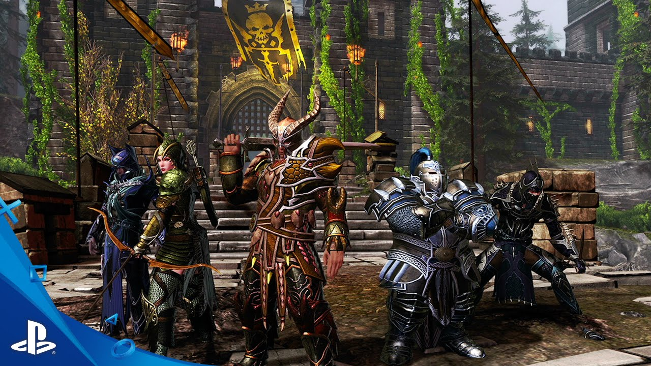 Neverwinter Launches for Free Today on PS4