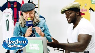 "Jimmy Bullard & Adebayo ""The Beast"" Akinfenwa Play Speech Breaker - Hasbro Gaming"