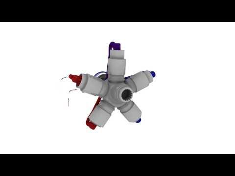 Vidéo Parker - Moteur à pistons radiaux CALZONI
