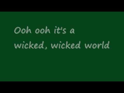 Laura Jansen Wicked World Lyrics