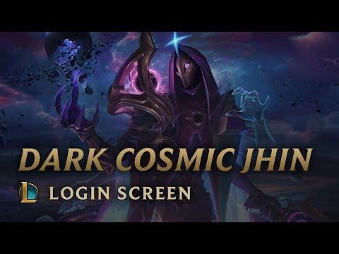Dark Cosmic Jhin | Login Screen – League of Legends
