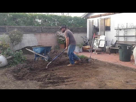 Backyard Ecological Landscape: Grading for Water Harvesting