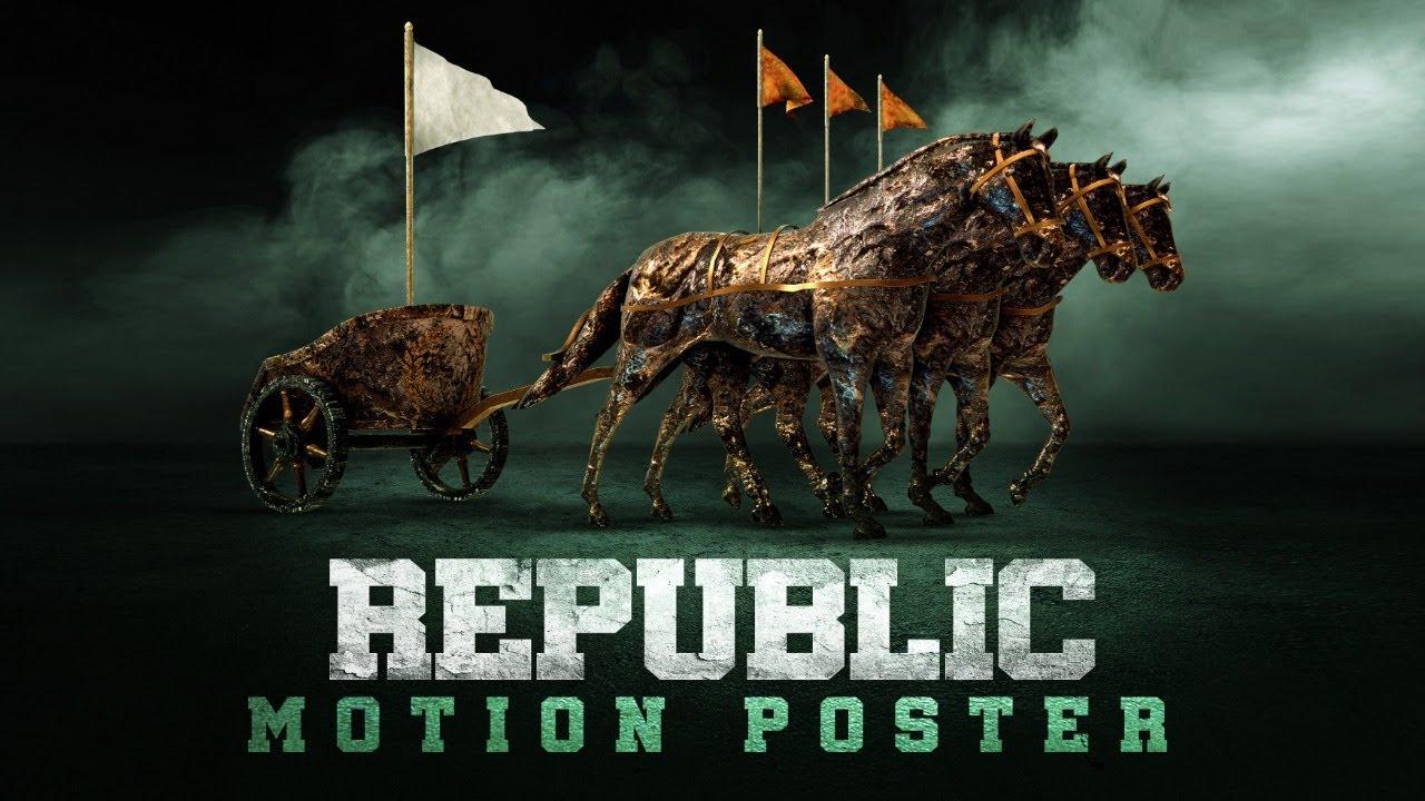Republic Motion Poster | Sai Tej