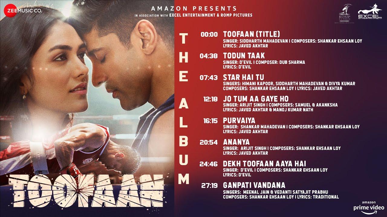 Ananya Lyrics | Toofan | Arijit Singh | Farhan Akhtar & Mrunal Thakur | Shankar Ehsaan Loy| Arijit Singh Lyrics