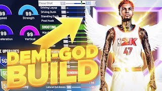 2K DELETED MY PLAYER SO I CREATED A PLAYSHOOTING DEMI-GOD! BEST BUILD AND BADGES FOR GUARDS NBA 2K20