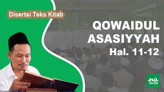 Kitab Qowaidul Asasiyyah # Hal. 11-12 # KH. Ahmad Bahauddin Nursalim