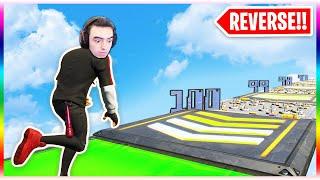 Fortnite... but REVERSE!! (Fortnite Creative Mode)