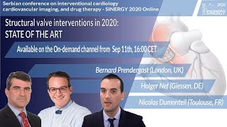SINERGY 2020 – Structural valve interventions in 2020: Percutaneous tricuspid valve intervention