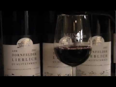 2007er Dornfelder lieblich Weingut Förster Hof www.ahrweindepot.de