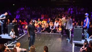 Beatdance Contest 2013 | 1/4 final Cyborg vs Brieuc / Nodey vs Lazy T