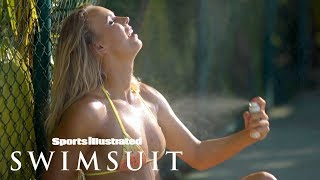 Serena Williams, Caroline Wozniaki & Genie Bouchard Get Ballsy | Sports Illustrated Swimsuit