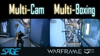 Warframe, One player, two characters (Multi-cam, Multi-boxing, T2 Capture)