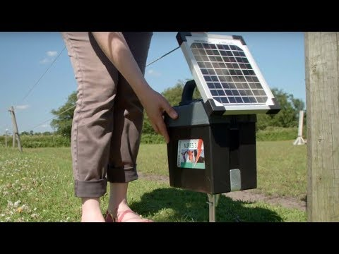 Weidezaungerät Solar - VOSS.farming Aures 3  (9V, 12V und 230V und Solar)