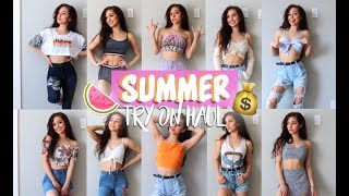 ♡ SUMMER 2017 TRY-ON HAUL | Fashion Nova & NeedMyStyle ♡