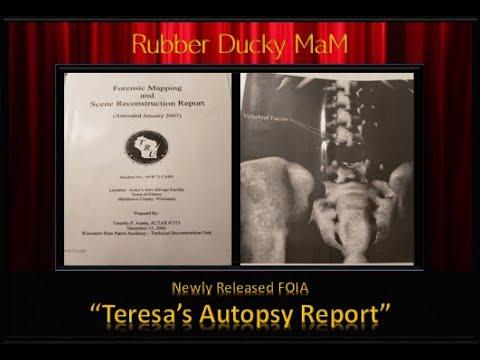 """""""Teresa Halbach's Autopsy Report"""""""