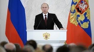 Обращение Владимира Путина по итогам референдума в Крыму