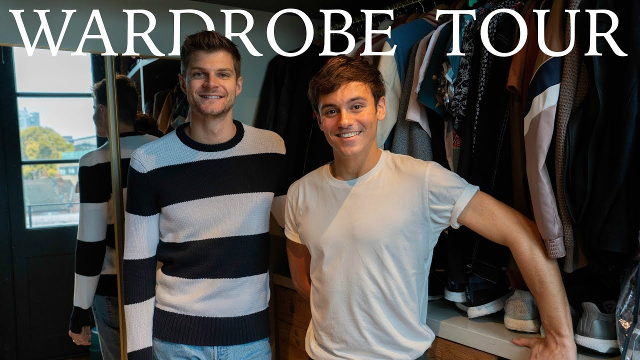 WARDROBE TOUR | #INTHECLOSET WITH TOM DALEY