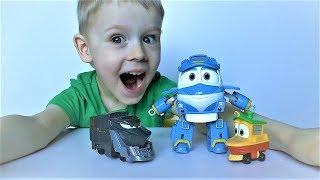 Robot Trains ( Роботы Поезда ) видео про игрушки для детей