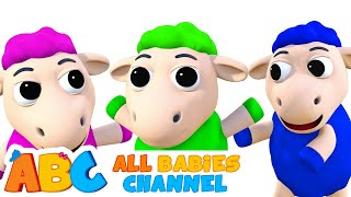 Baa Baa Black Sheep | Best 3D Nursery Rhymes Songs For Kids by All Babies Channel